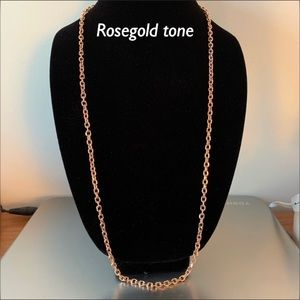 Park Lane ROSEgold tone Verona necklace/chain